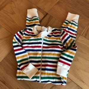 Hanna Andersson Striped Pajamas Christmas